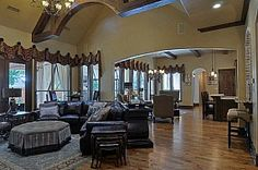 Luxury Home Design Southlake TX http://www.LStewartHomes.com #LuxuryHome #SouthlakeTX
