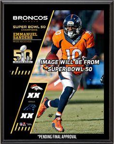 Emmanuel Sanders Denver Broncos Super Bowl 50 Champions 10.5