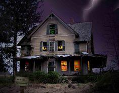 halloween+haunted+houses | Scary Halloween 2012 Haunted House HD Wallpaper 45 Scary Halloween ...
