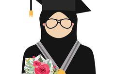 new Ideas design logo olshop kosong Beautiful Muslim Women, Beautiful Hijab, Hijab Drawing, Islamic Cartoon, Anime Muslim, Hijab Cartoon, Zeina, Congratulations Graduate, Cute Cartoon Wallpapers
