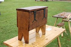 Scaled Down Six Board Chest