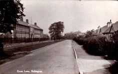 Wirral Grammar School and Cross Lane.