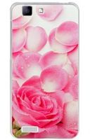 X3L Rose Pigments Pattern Mobile Phone Case for BBK X3L Phone Case Back Cover