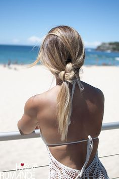 The Double Knot Ponytail Tutorial