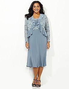 Elegant Jacket Plus Size Dresses – Fashion dresses