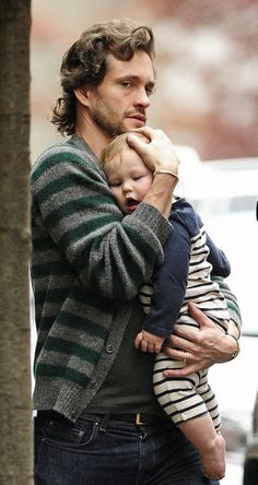 Hugh  and son Cyrus