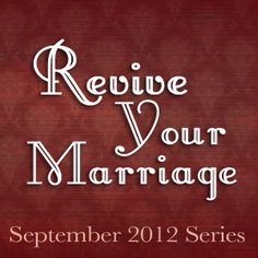 Revive Your Marriage 3: Revive Your Friendship - To Love, Honor and Vacuum