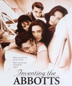 Joaquin Phoenix, Liv Tyler, Jennifer Connelly, Billy Crudup, and Joanna Going from 'Inventing The Abbots' Jennifer Connelly, Joaquin Phoenix, Carrie, Liv Tyler 90s, Small Movie, Billy Crudup, Music Film, Movie Theater, Cinematography