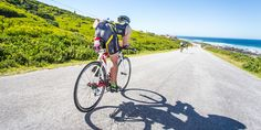 Pro James Cunnama dishes out the inside scoop on this year's stand-out IRONMAN World Championship venue. Triathlon Clothing, Port Elizabeth, Travel Bugs, World Championship, Golf Bags, Iron Man, Athlete, Take That, Racing