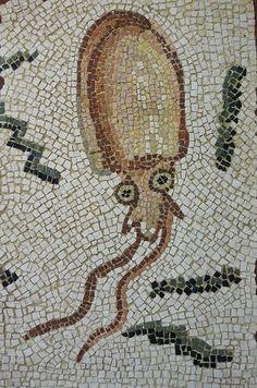 https://flic.kr/p/7F7AFC | seppia | Copy from Tunisian mosaic Bardo Museum Tunisi
