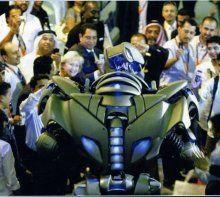 Titan the Robot - The Robot mundos más impresionante - Cornualles