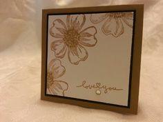 Baked Brown Sugar, Best of Greetings, Flower Shop, 3x3 Card