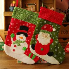 Type: Christmas Decoration Supplies Stocking Leg Height: Medium Christmas Item Type: Stockings & Gift Holders Material: Non-woven Fabrics Thickness: Thick Light Source: Luminous Model Number: Target Christmas Stockings, Vintage Christmas Stockings, Christmas Stocking Holders, Christmas Bags, Christmas Items, Childrens Christmas Gifts, Tropical Christmas, Candy Gifts, Christmas Decorations