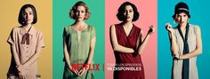 Las chicas del cable - Temporada 1 - Episodio 8 Netflix Series, Series Movies, Tv Series, I Dont Fit In, Don T Lie, Fanart, Young & Hungry, 2 Broke Girls, Favorite Tv Shows