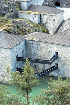 structural detail. Forte di Fortezza MARKUS SCHERER, WALTER DIETL/Fortezza (BZ), Italia
