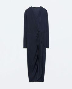 ZARA - WOMAN - KNOTTED LONG DRESS