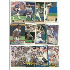 HUGE Different 50 TIM WALLACH cards lot RC 1982 - 1997 Expos Dodgers Angels