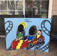 Carnival Games For Adults Photo Booths 34 Ideas Carnival Decorations, Carnival Games, School Carnival, Carnival Birthday, Roller Coaster Party, Roller Coasters, Carnival Photo Booths, Boardwalk Theme, Rocket Ship Party