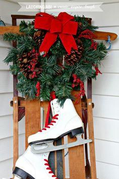 Christmas+Porch+Decorations