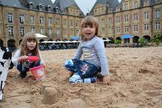 La météo n'était pas très alléchantes hier lors de l'inauguration de la Plage Ducale qui est ouverte jusqu'au 21 août.
