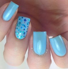 Sons of Adam Sons, Nail Polish Colors, Instagram Posts, Blue Cream, Collection, Fingers, Nail Ideas, Photo Credit, Beauty