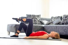 kegelove cviky Pilates, Health Fitness, Couch, Furniture, Medicine, Settee, Medical, Couches, Sofa