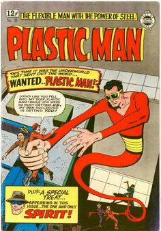 plastic man comics