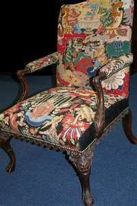 Needlepoint Chair janislipson.com