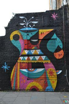Street art à Brick Lane et Shoreditch à Londres