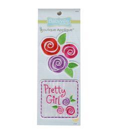 Babyville Boutique Appliques Sweet Girl 2pcs