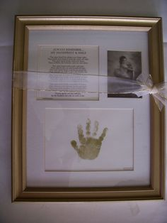 Vintage BABY Poem by Terri Harrison 1998  framed and matted  16 x 13  ( add your own 2 photos) ! by LIZ404 on Etsy
