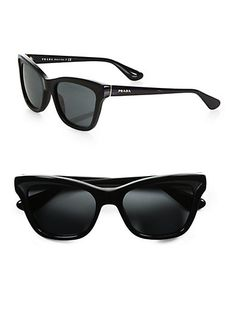 This Prada Cat-Eye Sunglasses will give an instant classy look in every occasion. You can never go wrong with cat eye sunnies. Or Prada! Prada Sunglasses, Sunglasses Online, Ray Ban Sunglasses, Cat Eye Sunglasses, Sunnies, Sunglasses Women, Cat Eyes, Eyewear, Shoe Bag