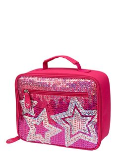 Justice Sequin Stars Lunch Tote