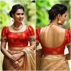 House of Blouse: Soon Going To Be Your Ultimate Blouse Destination! Black Blouse Designs, Silk Saree Blouse Designs, Saree Blouse Patterns, Blouse Neck Designs, Wedding Saree Collection, Dress Collection, House Of Blouse, Saree Draping Styles, Long Gown Dress