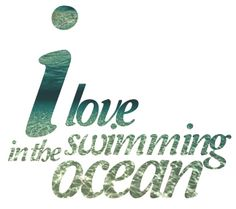 <3 swimming in the ocean Sandy Hair, Surf N Turf, I Love Swimming, Sandy Toes, Ocean Sounds, Florida Girl, Frame Of Mind, Beach Quotes, Beach Signs