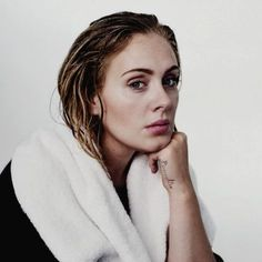"""I have insecurities of course but I don't hang out with anyone who points them out to me."" - Adele #wcw #wce"