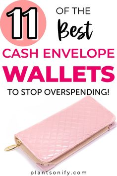 Check out 11 of the best cash envelope wallets to crush your budgeting goals. These wallets for cash Dave Ramsey Envelope System, Envelope Budget System, Cash Envelope System, Budget Envelopes, Cash Envelopes, Budgeting System, Budgeting Tips, Financial Apps, Financial Planning