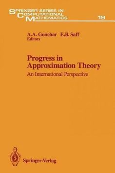 Progress in Approximation Theory: An International Perspective