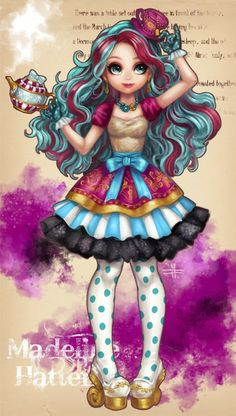 Madeline Hatter. Can we just stop a moment to say how adorable she is!