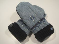 Grand Blanc Wool Mittens  med/lg  MMC445 by MichMittensbyLauri, $23.00