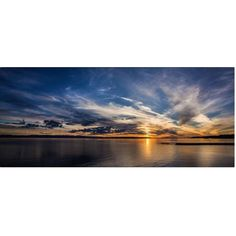 Trademark Fine Art Amazing Sky Canvas Art by Pierre Leclerc, Size: 20 x 47, Multicolor