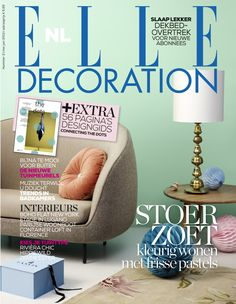 Cover ELLE Decoration NL nummer 2 2013