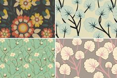 Floral Trends in Decor, Design + Fashion ~ http://clrlv.rs/JtfzLm