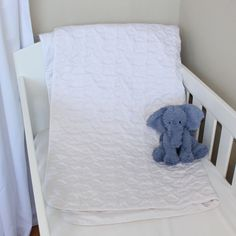White Clouds Quilted Cotton Playmat. Available online at www.babesandkids.co.za White Clouds, Bed, Cotton, Stream Bed, Beds
