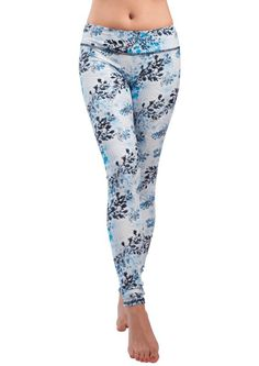 Another great find on Winter Garden Yoga Leggings Best Yoga Leggings, Yoga Capris, Tight Leggings, Workout Leggings, Yoga Pants, Yoga Dress, Sup Yoga, Yoga Fashion, Yoga Tops