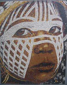 PORTRAITS MOSAICS - Mosaique et Creation, Mathilde L'Huillier
