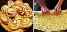 Cei mai delicioși melcișori de casă - Melcișori cu brânză dulce și cremă de smântână Hungarian Recipes, Russian Recipes, Cookie Dough Recipes, Cake Recipes, Homemade Cream Recipe, Slow Cooker Recipes, Cooking Recipes, Cooking Bacon, Romanian Desserts