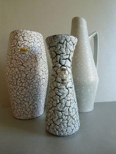 Jasba Vase - CORTINA Keramik 1958 von susduett  auf DaWanda.com