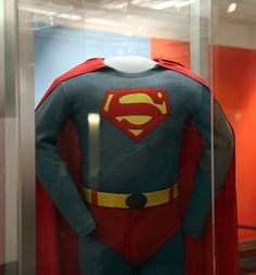 George Reeves Superman costume from the 1950s - Smithsonian Museum of American History - 2012-05-15 by dctim1, via Flickr #Smithsonian