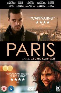 Paris - I enjoyed this introspective French movie with views of Parisians and their daily lives and a young man struggling with a heart condition.  ~5/31/12